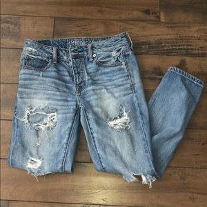 Destroyed boyfriend jeans 👖